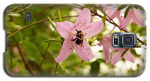 The Flower And The Bumble Bee Galaxy S5 Case by J Jaiam