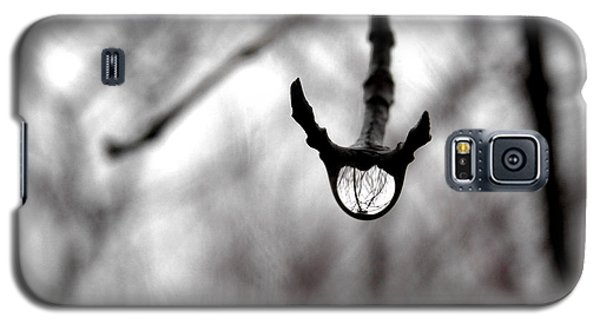 The Foretelling - Raindrop Reflection Galaxy S5 Case by Angie Rea