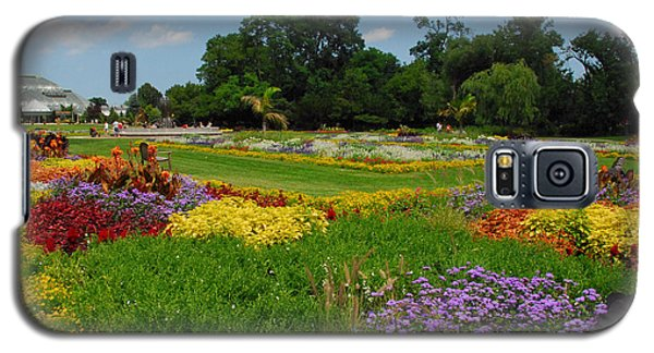 Galaxy S5 Case featuring the photograph The Gardens Of The Conservatory by Lynn Bauer