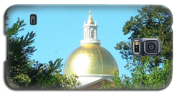Galaxy S5 Case featuring the photograph The Gold Dome by Bruce Carpenter