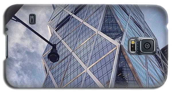 Blue Galaxy S5 Case - The Hearst Building by Randy Lemoine