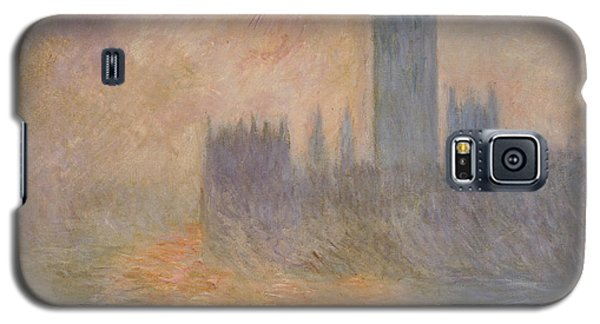The Houses Of Parliament At Sunset Galaxy S5 Case by Claude Monet