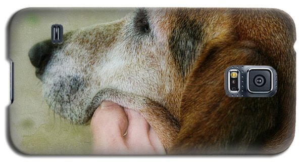 Galaxy S5 Case featuring the photograph The Human Touch by Joan Bertucci