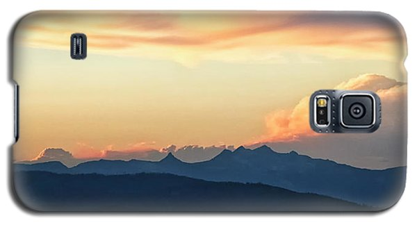 Galaxy S5 Case featuring the photograph The Idaho Selkirks by Albert Seger