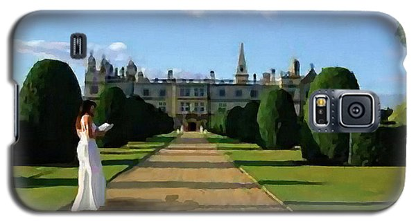 The Lady Of Burghley House Galaxy S5 Case by Jann Paxton