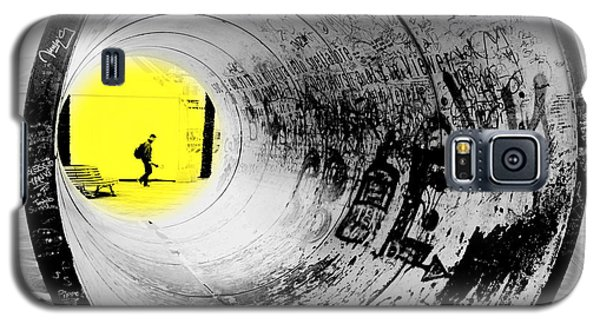 The Light At The End Of The Tunnel Galaxy S5 Case by Valentino Visentini
