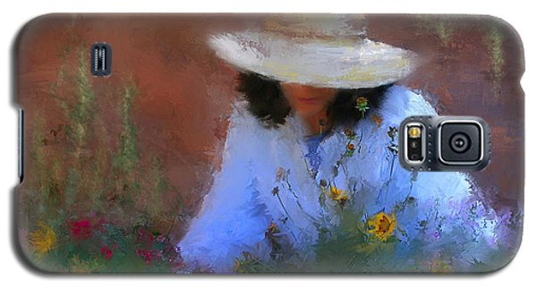 The Light Of The Garden Galaxy S5 Case by Colleen Taylor