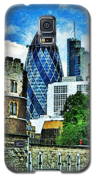 The London Gherkin  Galaxy S5 Case by Steve Taylor