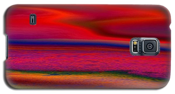 Galaxy S5 Case featuring the photograph The Lonely Beach by David Pantuso