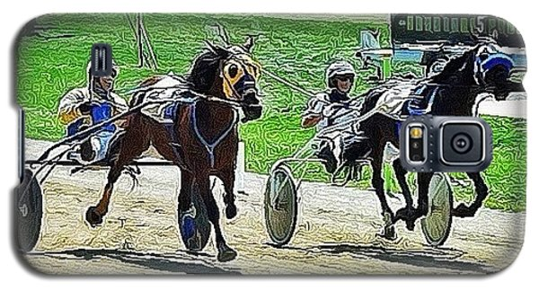 Ohio Galaxy S5 Case - The Long Tail Filly & The Big Black by Natasha Marco