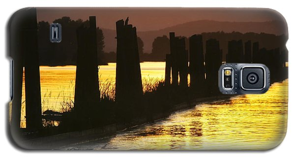 Galaxy S5 Case featuring the photograph The Lost River Of Gold by Albert Seger