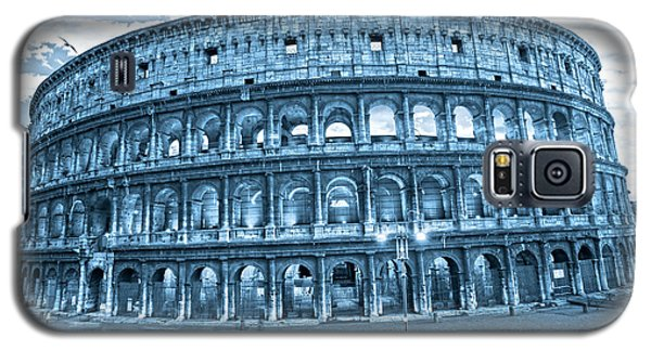 Galaxy S5 Case featuring the photograph The Majestic Coliseum by Luciano Mortula