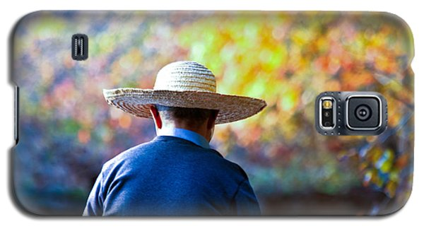 The Man In The Straw Hat Galaxy S5 Case