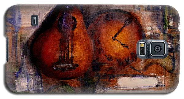 Galaxy S5 Case featuring the painting The Mandolin by Evelina Popilian
