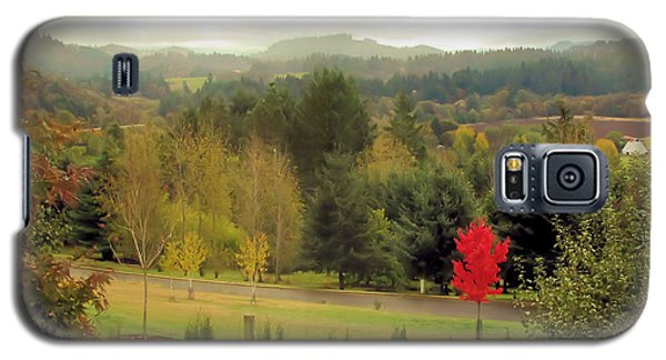 Galaxy S5 Case featuring the photograph The Maple by Katie Wing Vigil