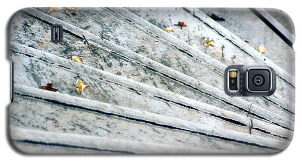 Galaxy S5 Case featuring the photograph The Marble Steps Of Life by Vicki Ferrari