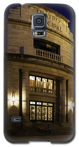 Galaxy S5 Case featuring the photograph The Meeting Place by Lynn Palmer