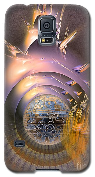 The Message - Fractal Art Galaxy S5 Case