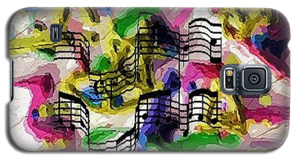 Galaxy S5 Case featuring the digital art The Music In Me by Alec Drake