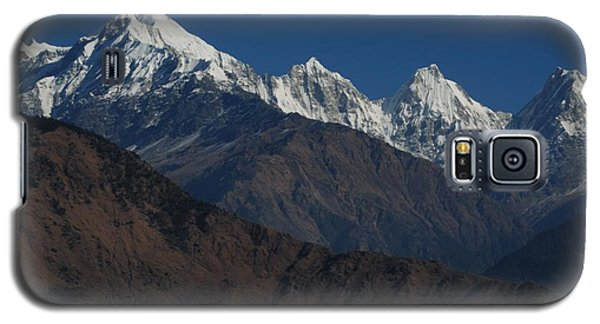 Galaxy S5 Case featuring the photograph The Panchchuli Range by Fotosas Photography