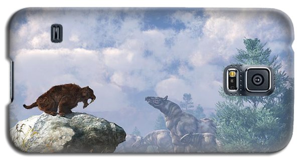 The Paraceratherium Migration Galaxy S5 Case by Daniel Eskridge