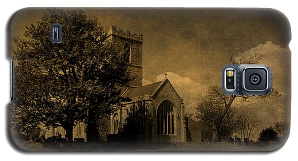 The Parish Church Of St Andrew Texture Galaxy S5 Case