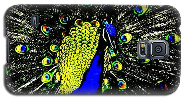 The Peacock Galaxy S5 Case by John King