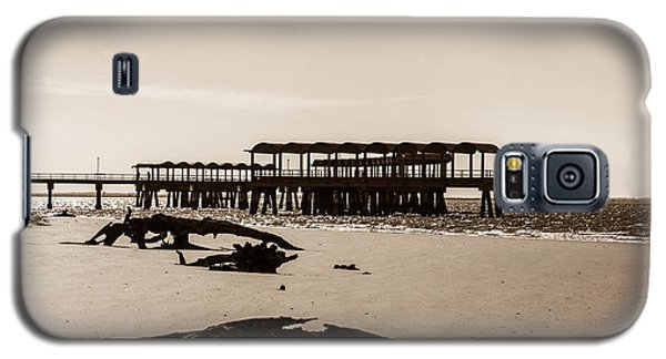Galaxy S5 Case featuring the photograph The Pier by Shannon Harrington