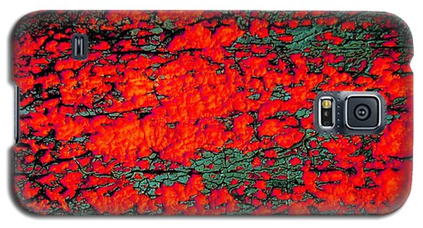 Galaxy S5 Case featuring the photograph The Red Shed by Amy Sorrell