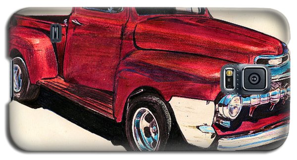 The Red Truck Galaxy S5 Case