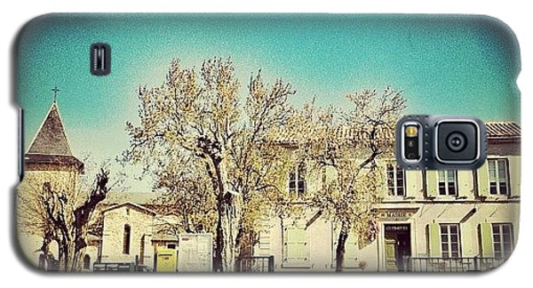 School Galaxy S5 Case - The #school And #church Of Brousses by Wilbert Claessens