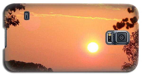 The Setting Sun Galaxy S5 Case by Robin Regan