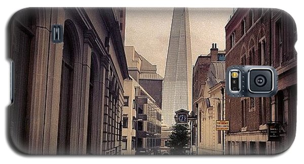 England Galaxy S5 Case - The Shard by Samuel Gunnell