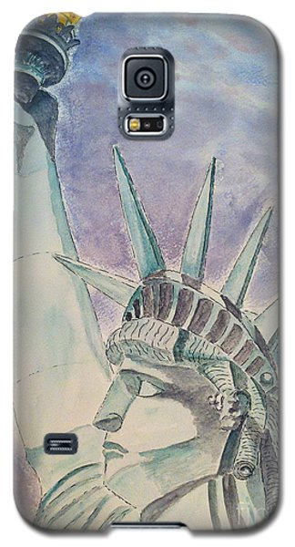 The Statue Of Liberty Galaxy S5 Case by Eva Ason