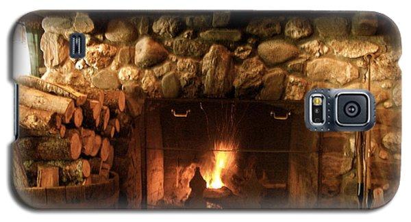 Stone Fireplace Galaxy S5 Case by Robin Regan