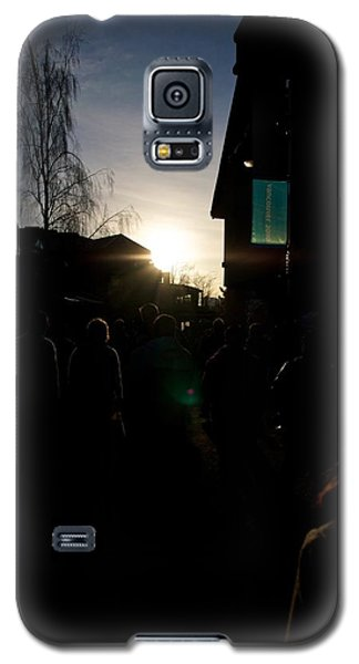 The Sun Departs Whistler Bc Galaxy S5 Case by JM Photography