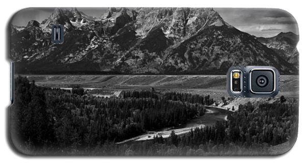 The Tetons - Il Bw Galaxy S5 Case