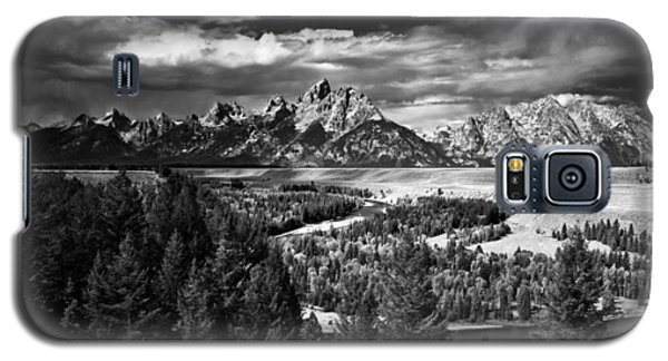 The Tetons Galaxy S5 Case by Larry Carr