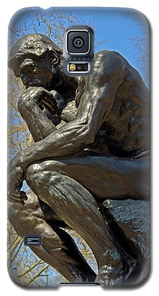 The Thinker By Rodin Galaxy S5 Case by Lisa Phillips