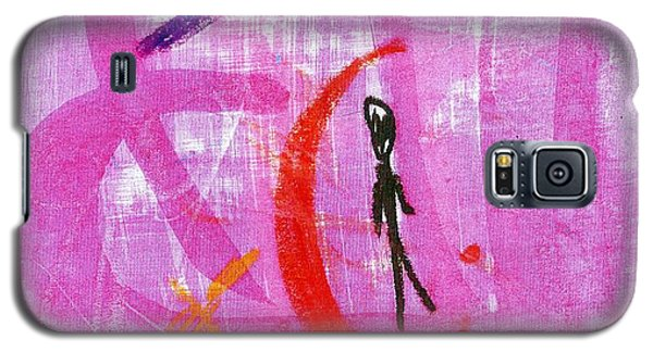 Galaxy S5 Case featuring the drawing The Transcience And Permanence Of Love by Patrick Morgan