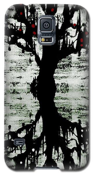 Galaxy S5 Case featuring the painting The Tree The Root by Amy Sorrell