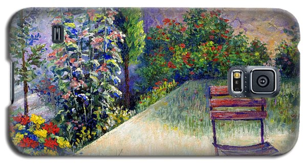 Galaxy S5 Case featuring the painting The Unseen Guest by Lou Ann Bagnall
