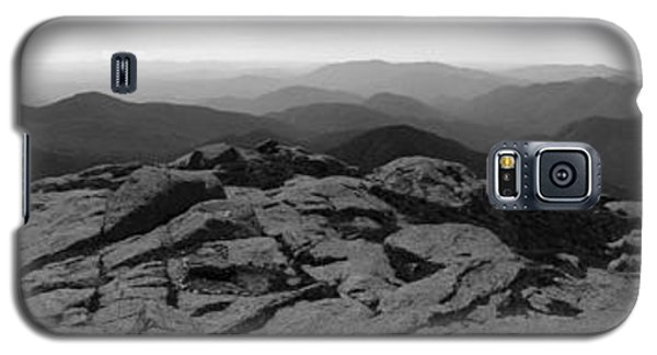 The View North From Mt. Marcy Black And White Three Galaxy S5 Case by Joshua House
