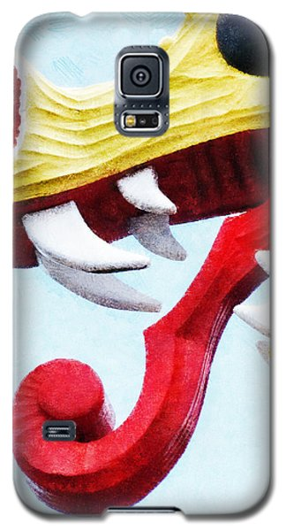 Galaxy S5 Case featuring the photograph The Viking Dragon by Steve Taylor