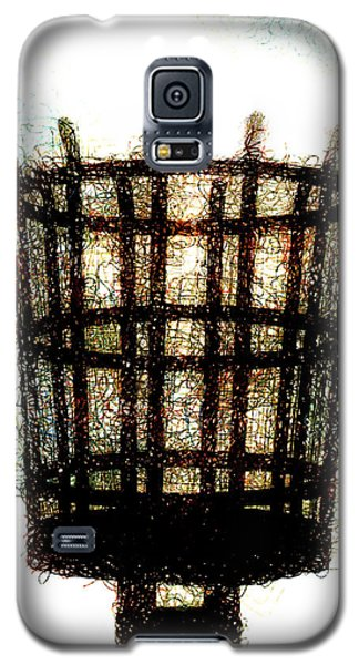 Galaxy S5 Case featuring the digital art The Viking Flame  by Steve Taylor