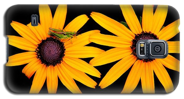 Galaxy S5 Case featuring the photograph The Yellow Rudbeckia by Davandra Cribbie