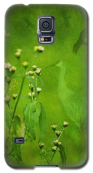 Think Green Galaxy S5 Case by Vicki Pelham