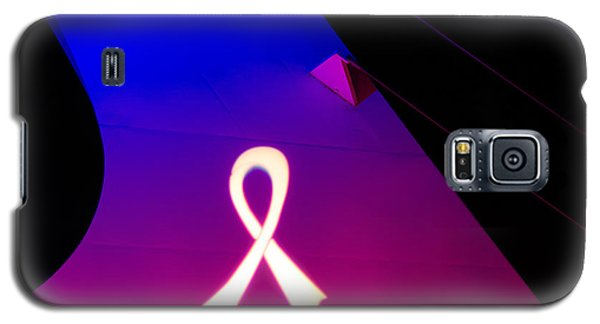Galaxy S5 Case featuring the photograph Think Pink Sundial - 2 by Randy Wood