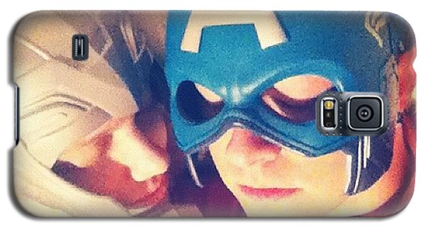 Superhero Galaxy S5 Case - Thor And Captain America. #gay #lovers by Joey Broyles