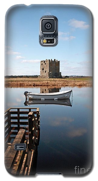 Threave Castle Reflection Galaxy S5 Case